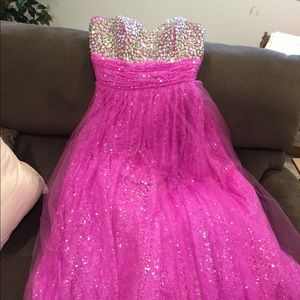 Prom gown/formal gown